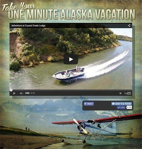 One Minute Alaska Vacation