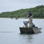 Fishing the Naknek River
