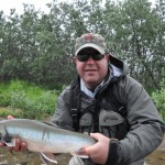 Dave with Nice Dolly Varden