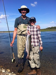 Father and Son Sockeye Salmon