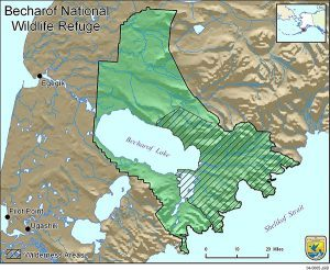 Becharof_Wildlife_Refuge_Map