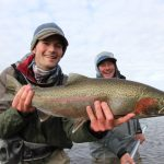 Alaska Rainbow Trout Brendan and Ryan Friel